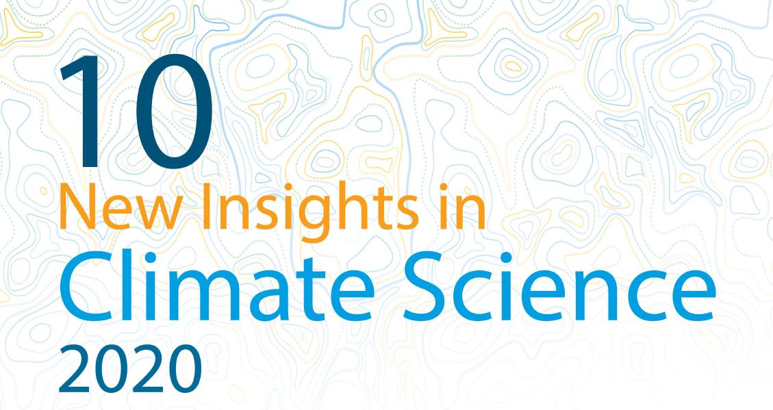 Die Top 10 der wichtigsten Erkenntnisse der Klimawissenschaft 2020