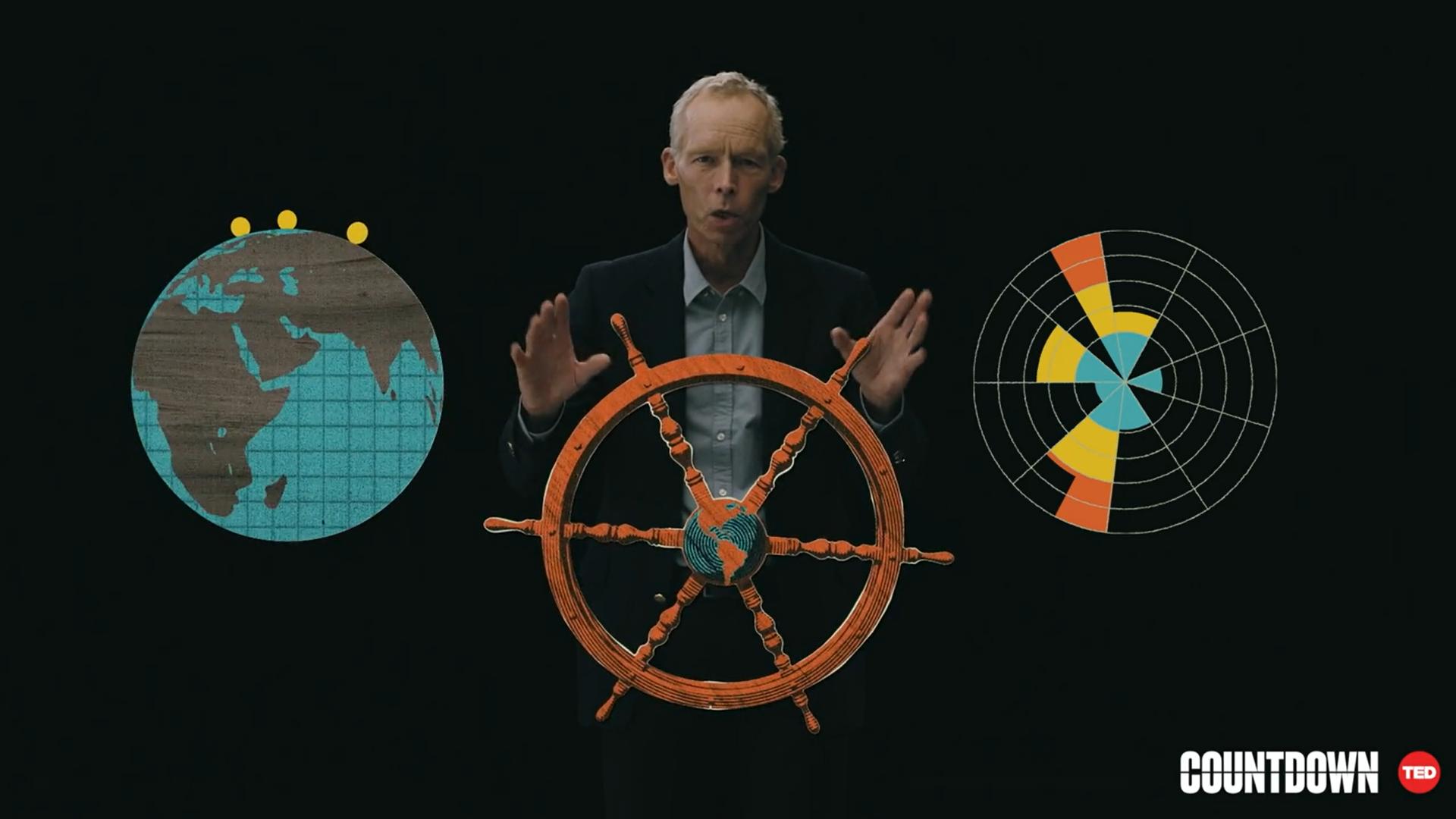 """""""Das Klima hat einen globalen Krisenpunkt erreicht"""": PIK-Direktor nimmt am TED-Countdown teil"""