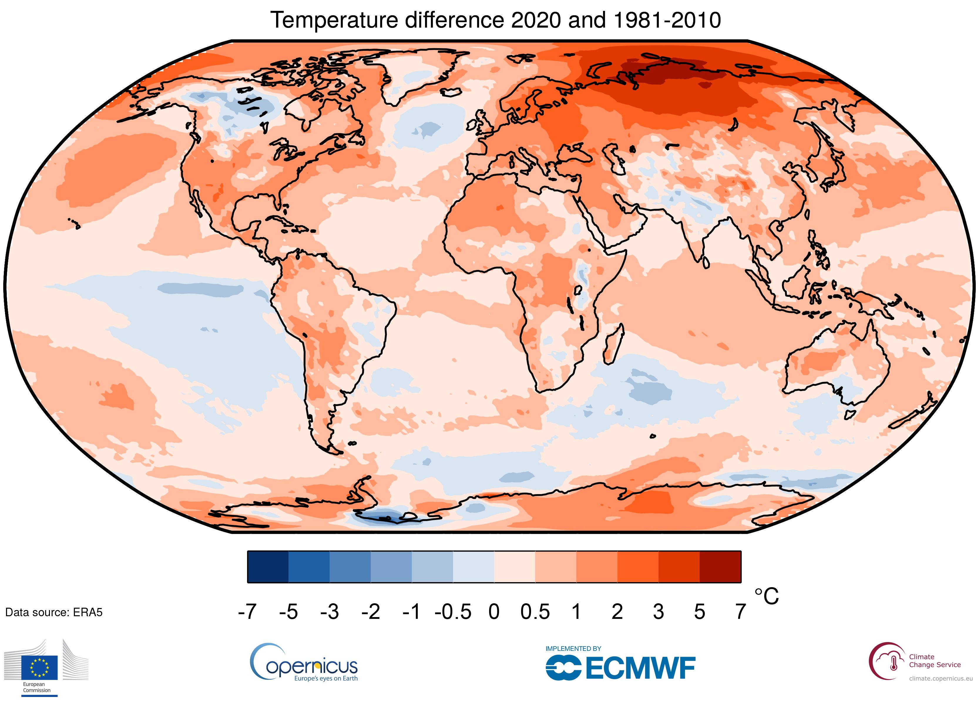 """""""Es geht nicht um ein Jahr, es geht um den Trend"""": Rockström zu Wärmerekord 2020"""