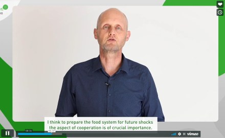 Prof. Hermann Lotze-Campen hält Keynote auf der World Food Convention 2020