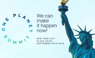 One Planet Summit: Rockström auf Klimagipfeln in New York und Kalifornien