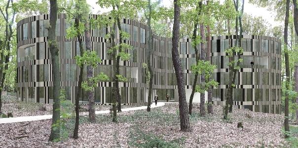 Ansicht Holzfassade