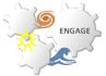 Logo ENGAGE - Economic Growth Impacts of Climate Change