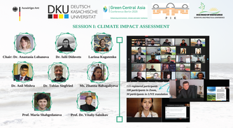 PIK/RD2-presence in Green Central Asia Project online events