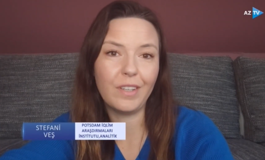 Stefanie Wesch was interviewed by Azerbaijan Television regarding the recent outbreak of violence over water resources along the Tajik-Kyrgyz border