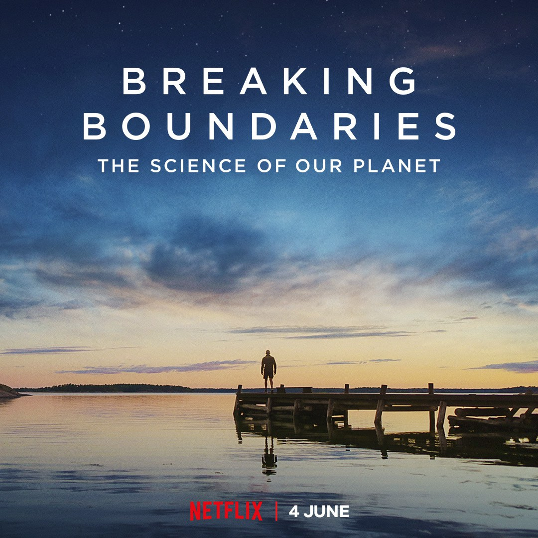 """2021/06/04: Documentary """"Breaking boundaries: The science of our planet"""" released"""