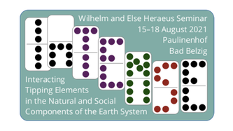 """2021/08/15-18: WE-Heraeus-Seminar on """"Interacting Tipping Elements in the Natural and Social Components of the Earth System"""" (InTENSE)"""