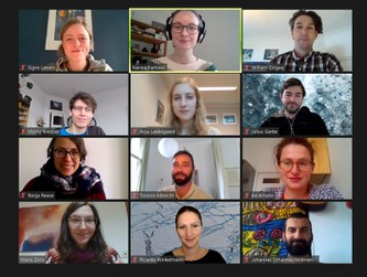 2020/10/21: Online workshop with working group from GEUS
