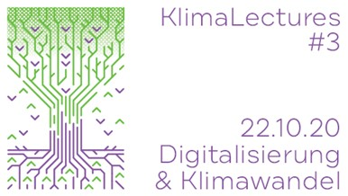 2020/10/22: 3rd #KlimaLecture hosted by Junge Akademie