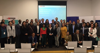 EPICC training during first national workshop on climate change and human mobility in Peru, 30.09.-01.10.2019