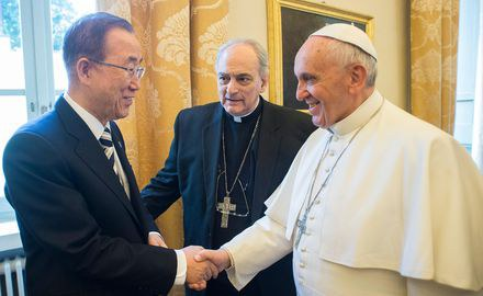 """""""A moral imperative"""": Schellnhuber speaks at Vatican climate meeting"""