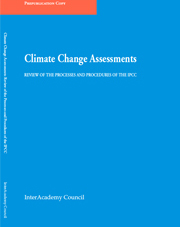 Edenhofer welcomes the InterAcademy Council's reform recommendations to the IPCC