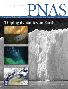 Editorial on Tipping Elements online-hit of PNAS