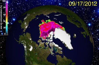 """""""Record sea-ice melt a warning sign"""": top German Arctic researchers"""
