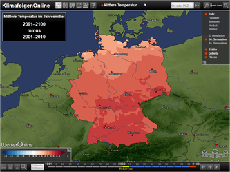 From summer droughts to winter floods: climate impacts in Germany