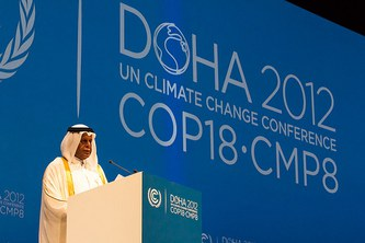 """""""You cannot negotiate with nature"""": Leading scientists on COP18 in Doha"""