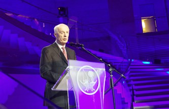 Doha World Climate Summit: Schellnhuber gives talk to high-ranking representatives of states