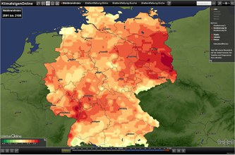 Website on climate impacts in Germany starts in pilot phase