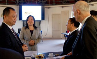 Water management in China: High-ranking delegation discusses with scientists