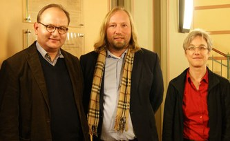 Chair of the Green parliamentary group visits PIK