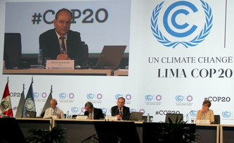 UN Climate Conference COP20: The challenges of climate change and poverty