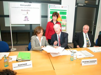 Ministry of Environment of Rhineland-Palatinate and PIK initiate research collaboration