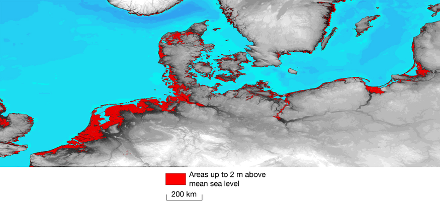 Sea Level Rise could reach 1.9 Metres this century