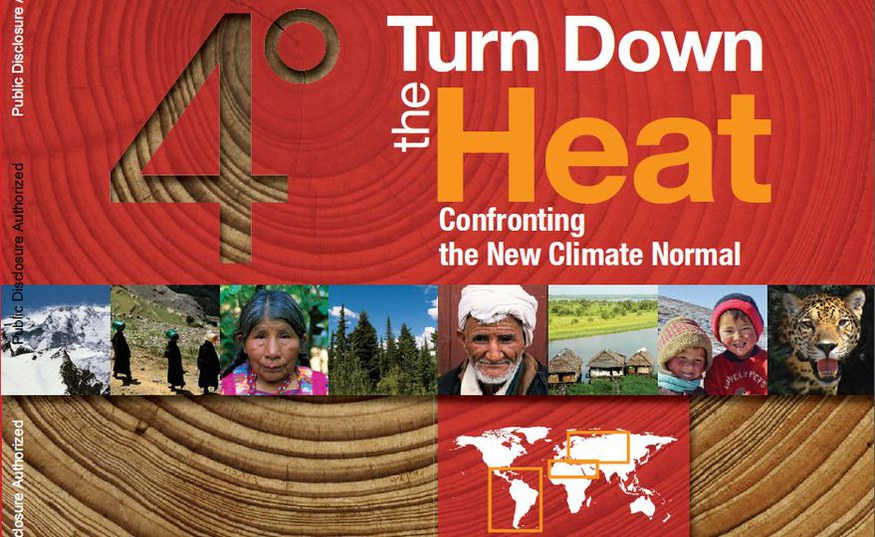 """""""Confronting the new normal"""": World Bank launches PIK climate report"""