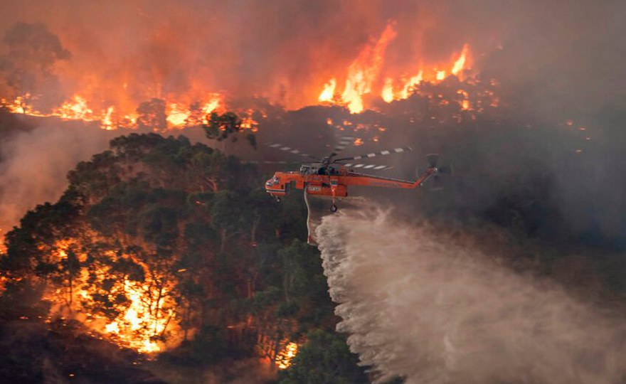 "Australian bush fires: ""What is happening in the southeast of Australia right now is breaking all records"""