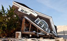 Can we economically outgrow climate change damages? Not for hurricanes we can't