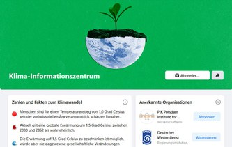 Facebook launches Climate Science Information Center with scientific contributions by PIK