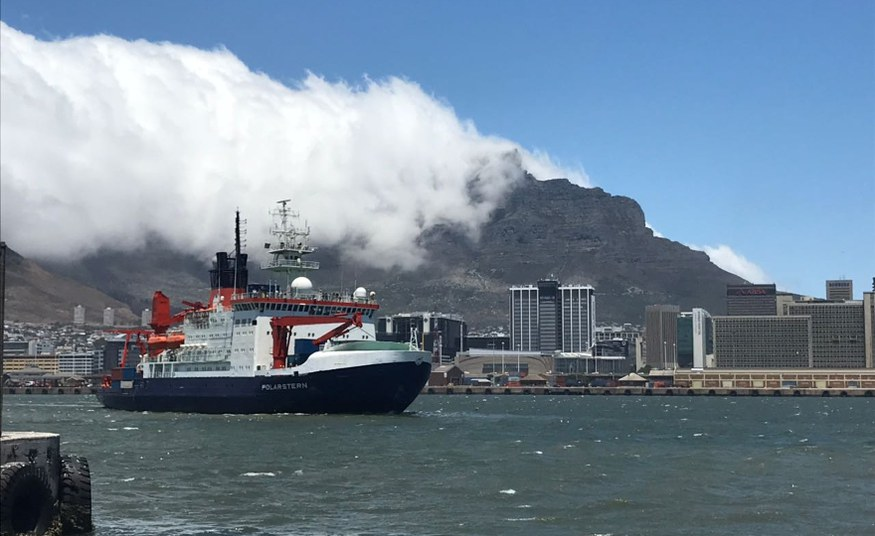FAZ-Blog: PIK climate scientists on expedition to the Antarctic
