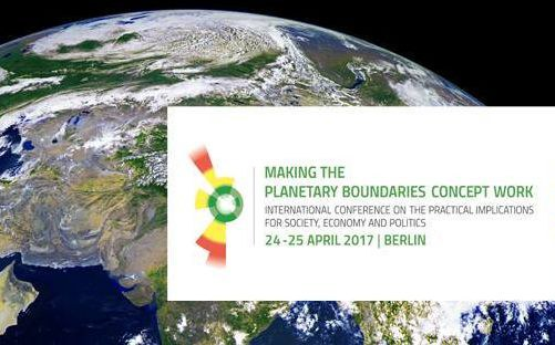 Making the Planetary Boundaries Concept Work: Conference in Berlin