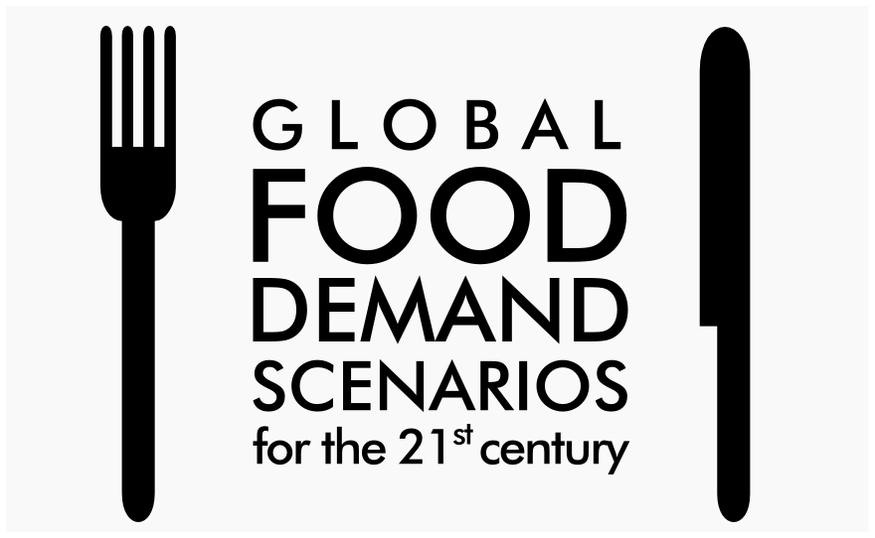 Global food demand scenarios for the 21st century: new online tool
