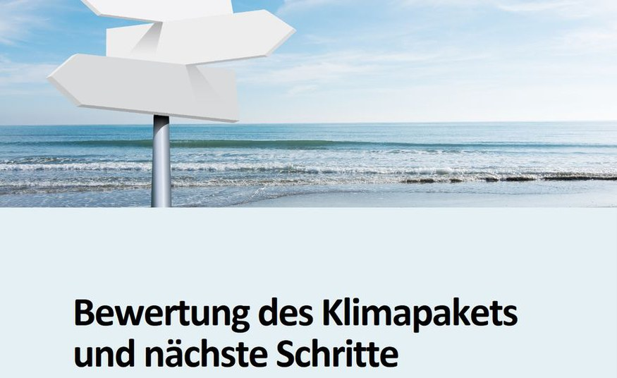 PIK and MCC deliver detailed assessment of German climate package