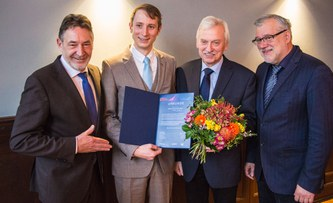 Potsdam Young Scientist Award for Max Franks