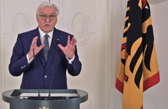 "President Steinmeier: ""Without people like Edenhofer, the Paris Agreement and the German climate deal would not have been possible."""