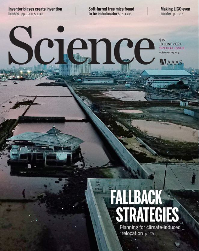 Science commentary: Addressing the human cost of displacement in a changing climate