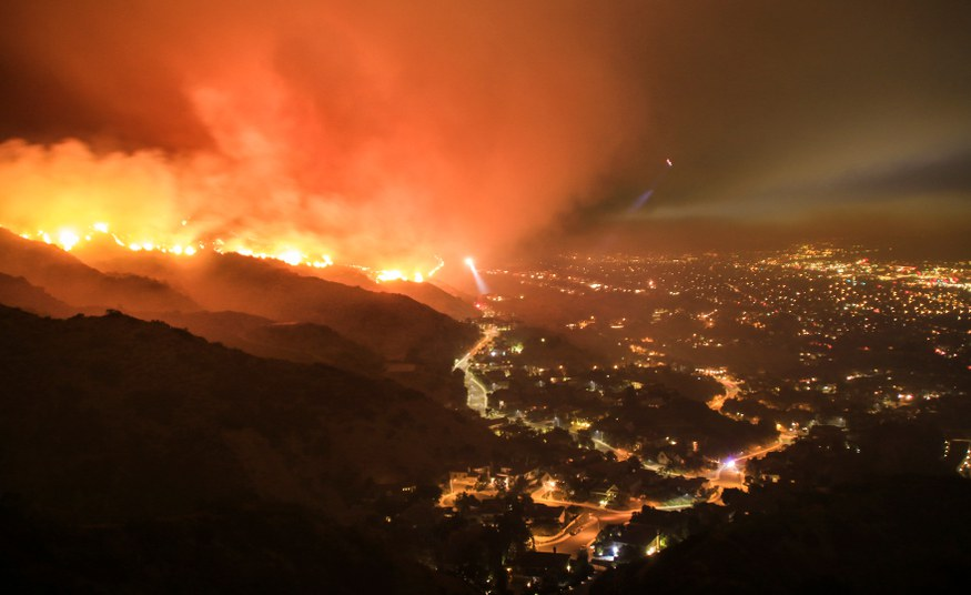 Statement on the current California forest fires