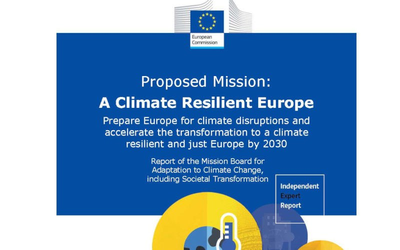 Towards a climate resilient Europe: EU Mission Board with Johan Rockström releases report