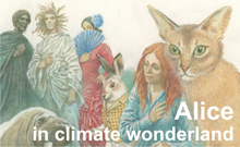 Photo: Alice, the Zeta Cat and Climate Change
